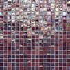 "Daltile City Lights 1/2"" x 1/2"" Glass Unpolished Mosaic in Purple"