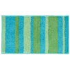 InterDesign Kandi Blue/Green Striped Area Rug