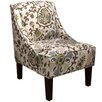 <strong>Silsila Swoop Arm Chair</strong> by Skyline Furniture