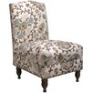 <strong>Silsila Nail Button Side Chair</strong> by Skyline Furniture