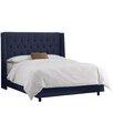 Skyline Furniture Regal Upholstered Wingback Bed