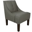 <strong>Twill Cotton 3 Button Swoop Arm Chair</strong> by Skyline Furniture