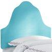Skyline Furniture High Arc Micro Suede Upholstered Headboard