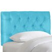 <strong>Tufted Micro-Suede Upholstered Headboard</strong> by Skyline Furniture