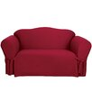 Sure-Fit Cotton Duck Sofa Slipcover