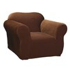 <strong>Stretch Pique Chair Slipcover</strong> by Sure-Fit
