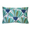 Trina Turk Tropical Flowers Embroidered Pillow