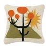Trina Turk Calico Needlepoint Pillow