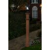 """<strong>New England Arbors</strong> Charleston 74"""" Composite Lamp Post"""