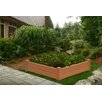 New England Arbors Chelsea Square Raised Garden Bed