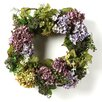 "<strong>Nearly Natural</strong> 24"" Hydrangea Wreath"