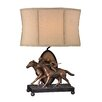 """<strong>Winning Post 25"""" H Table Lamp with Drum Shade</strong> by Sterling Industries"""