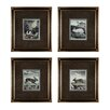 <strong>Sterling Industries</strong> Rabbits 4 Piece Framed Graphic Art Set