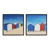 <strong>Beach Retreat 2 Piece Framed Painting Print Set</strong> by Sterling Industries