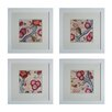 <strong>Custom Cottage Vine 4 Piece Framed Graphic Art Set</strong> by Sterling Industries