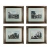 <strong>Sterling Industries</strong> Tranquil Countryside 4 Piece Framed Graphic Art Set