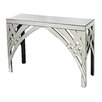 Sterling Industries Curved Ribbon Mirrored Console