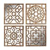 <strong>Sterling Industries</strong> Mirrored Wall Panel (Set of 4)