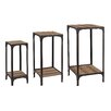 Sterling Industries 3 Piece Plant Stand Set with Bottom Shelf