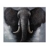 Sterling Industries African Elephant Oversized Oil Painting Print on Canvas