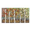 <strong>Autumn Birch Graphic Art on Canvas</strong> by Sterling Industries