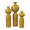 Sterling Industries 3 Piece Ceramic Vase Set