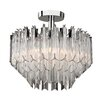 <strong>Sterling Industries</strong> 3 Light Semi-Flush Mount