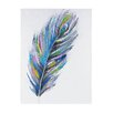 <strong>Sterling Industries</strong> Pastel Peacock Oversized Oil Painting Print on Canvas