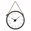 "<strong>Sterling Industries</strong> Hung On Rope Oversized 36"" Wall Clock"