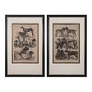 <strong>Sterling Industries</strong> International Dog Show 2 Piece Framed Painting Print Set