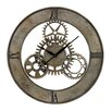 "<strong>Sterling Industries</strong> Oversized 30"" Industrial Cog  Wall Clock"