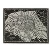 <strong>Sterling Industries</strong> Laser Cut Map Of Paris Circa 1790 Graphic Art on Canvas