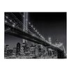 Sterling Industries Williamsburg Brige Photographic Print on Canvas