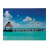 Sterling Industries Maldives Photographic Print on Canvas