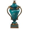 <strong>Sterling Industries</strong> Turquoise Decorative Urn