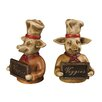 <strong>Sterling Industries</strong> Chef Pig Book Ends (Set of 2)