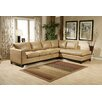 <strong>Omnia Furniture</strong> City Sleek Leather Living Room Set