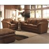 Oregon 3 Seat Leather Living Room Set