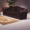 <strong>Omnia Furniture</strong> Sedona Leather Sleeper Loveseat