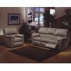 <strong>Vercelli Leather Living Room Set</strong> by Omnia Furniture
