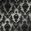 <strong>Damsel Temporary Damask Wallpaper</strong> by Tempaper