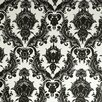 <strong>Tempaper</strong> Damsel Temporary Damask Foiled Wallpaper