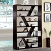 "<strong>Enitial Lab</strong> Donnia Open Zig Zag 70.75"" Bookcase"