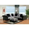Hokku Designs Pippali Sectional with Ottoman