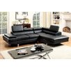<strong>Hokku Designs</strong> Dymitri Modern Sectional with Speaker Console