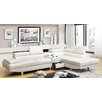 Hokku Designs Dymitri Modern Sectional with Speaker Console