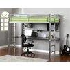 Hokku Designs Regis Twin Loft Bed with Workstation