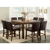 Hokku Designs Tacinth 9 Piece Counter Height Dining Set