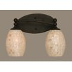 Toltec Lighting Capri 2 Light Bath Bar