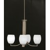 <strong>Apollo 4 Light Chandelier With Hang Straight Swivel</strong> by Toltec Lighting